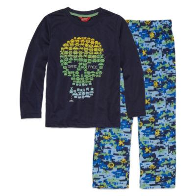 Arizona Husky 2 PC Skull Print Pajama Set - Boys 4-20
