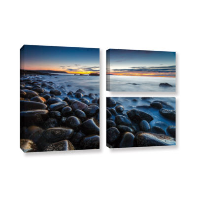 Boulder Beach 3-pc. Flag Gallery Wrapped Canvas Wall Art