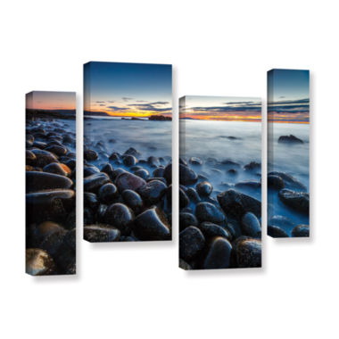 Boulder Beach 4-pc. Gallery Wrapped Staggered Canvas Wall Art