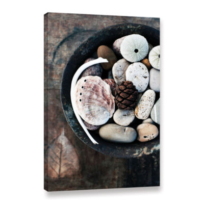 Brushtone Bowl Of The Sea Gallery Wrapped Canvas Wall Art