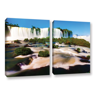 Brushtone Brazil 2 2-pc. Gallery Wrapped Canvas Wall Art