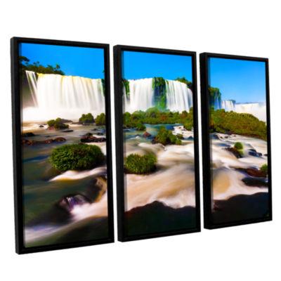 Brushtone Brazil 2 3-pc. Floater Framed Canvas Wall Art