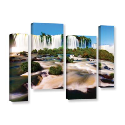 Brushtone Brazil 2 4-pc. Floater Framed Staggered Canvas Wall Art