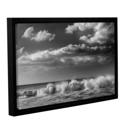 Brushtone Breaking Wave 1 Gallery Wrapped Floater-Framed Canvas Wall Art