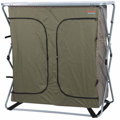 Sierra Double Camp Cupboard Folding Table