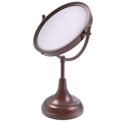 Allied Brass 8 Inch Vanity Top Make-Up Mirror 5X Magnification