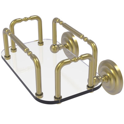 Allied Brass Que New Wall Mounted Guest Towel Holder