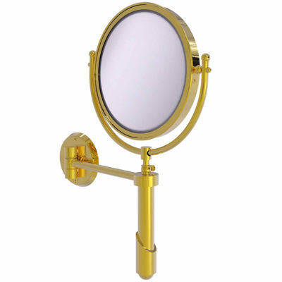 Allied Brass Soho Collection Wall Mounted Make-UpMirror 8 Inch Diameter With 2X Magnification