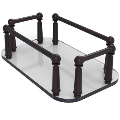 Allied Brass Vanity Top Glass Guest Towel Tray