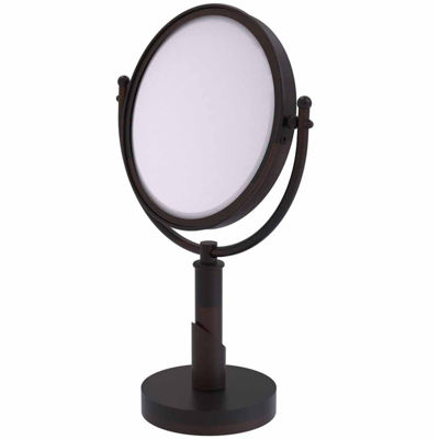 Allied Brass Soho Collection 8 Inch Vanity Top Make-Up Mirror 5X Magnification