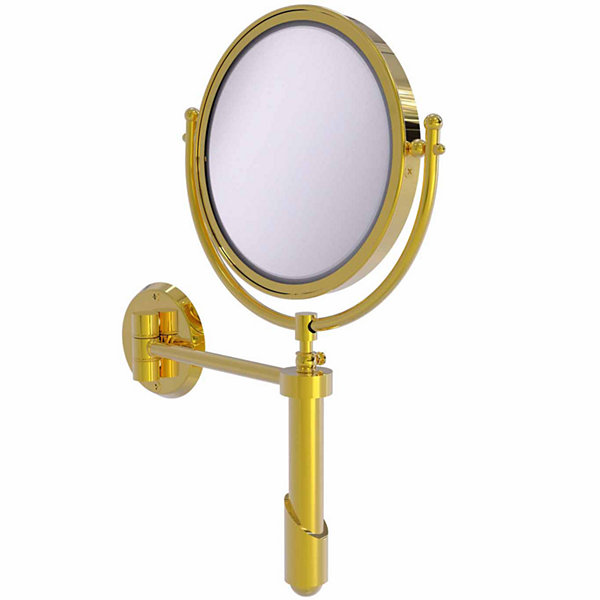 Allied Brass Soho Collection Wall Mounted Make-UpMirror 8 Inch Diameter With 5X Magnification