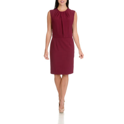 Larry Levine Tuck Front Dress