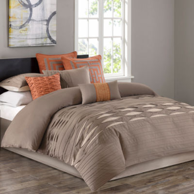 Nara Cotton Sateen 4-pc. Comforter Set