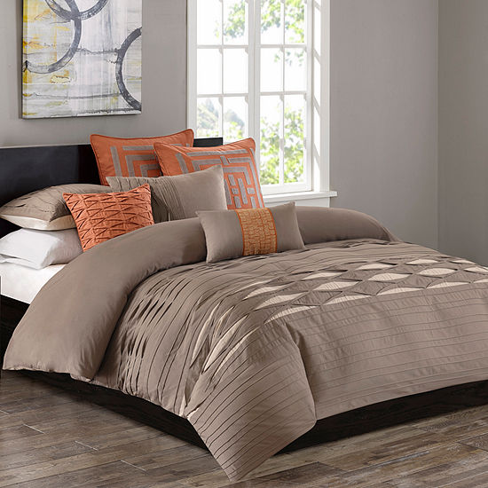 Nara Cotton Sateen 3-pc. Solid Hypoallergenic Duvet Cover Set