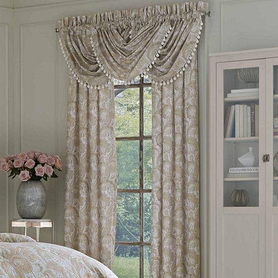 Queen Street Carmen Rod-Pocket Curtain Panel