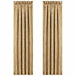 Queen Street Neopolitano Rod-Pocket Set of 2 Curtain Panel