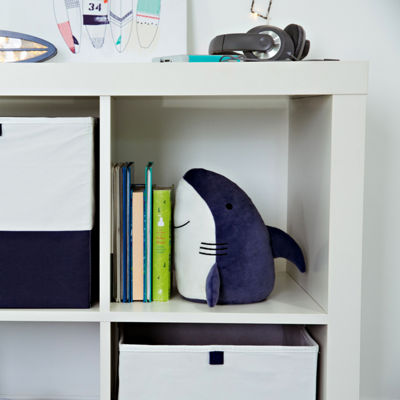 Frank And Lulu Shark Plush Weighted Room Decor Bookend