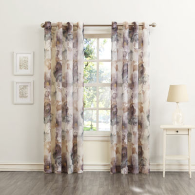 Sun Zero Andorra Grommet-Top Curtain Panel