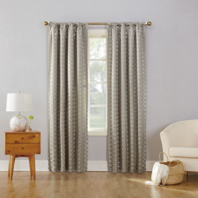 Sun Zero Atticus Blackout Rod-Pocket Curtain Panel