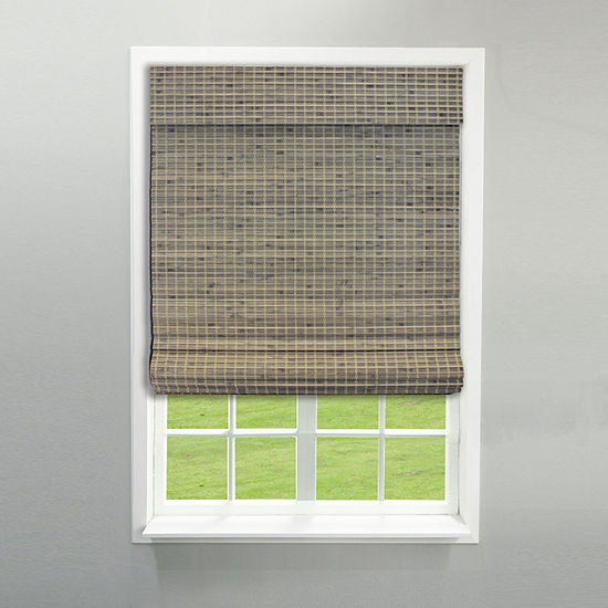 RADIANCE NEWPORT CORDLESS PRIVACY WEAVE ROMAN SHADE