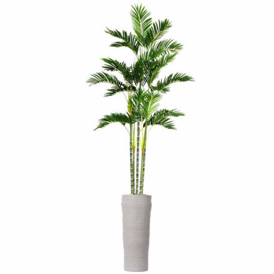 89 Inch Tall Palm Tree In Planter