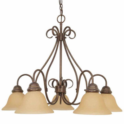 Filament Design 5-Light Sonoma Bronze Chandelier