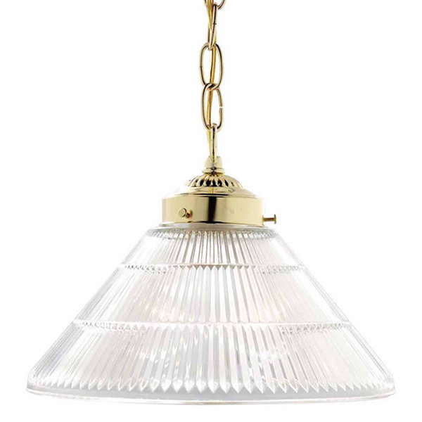 Filament Design 1-Light Polished Brass Pendant