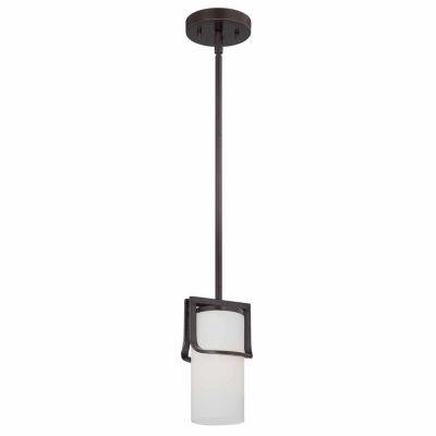 Filament Design 1-Light Russet Bronze Pendant Mini-Pendant
