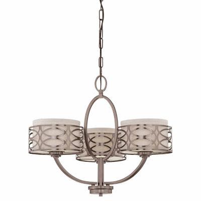 Filament Design 3-Light Hazel Bronze Chandelier
