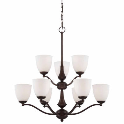 Filament Design 9-Light Prairie Bronze Chandelier