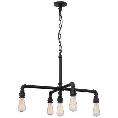Filament Design 5-Light Industrial Bronze Chandelier