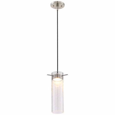 Filament Design 1-Light Brushed Nickel Pendant Mini-Pendant