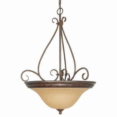 Filament Design 3-Light Sonoma Bronze Pendant