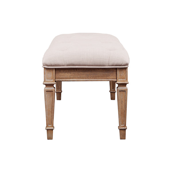 Madison Park Signature Victoria Bench Ottoman