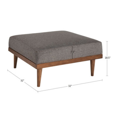 INK + IVY Stanton Square Ottoman