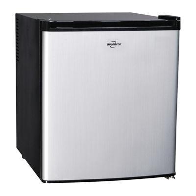 Koolatron Ac/Dc Hybrid Heat pipe Thermoelectric 1.7 Cu Ft Refrigerator