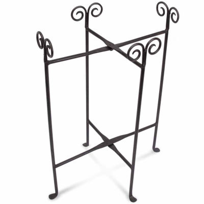 St. Croix Trading Kindwer Iron Floor Stand for Oval Tub