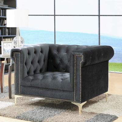 Bea Velvet Club Chair