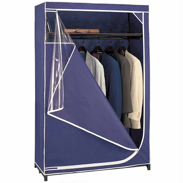 Neu Home Blue Deluxe Storage Wardrobe