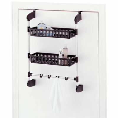 Neu Home Over-the-Door 2-Basket Unit with Hook