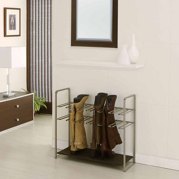 Neu Home Stackable Boots Shoe Rack
