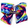 JoJo Siwa Large Signature Hair Bow Tie-Dye Rainbow