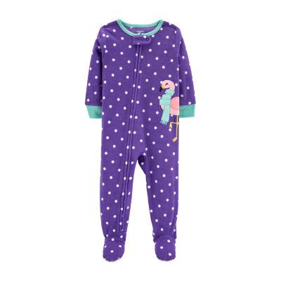 Carter's One Piece Fleece Pajama - Baby Girl