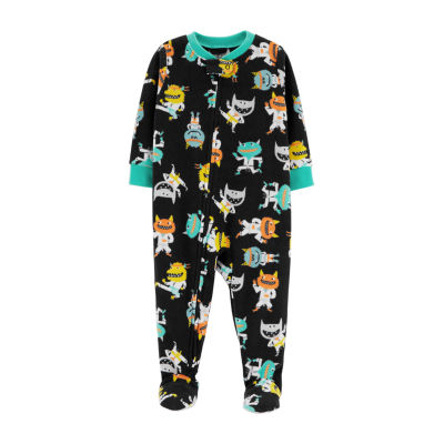 Carter's One Piece Monster Fleece PJ - Toddler Boy