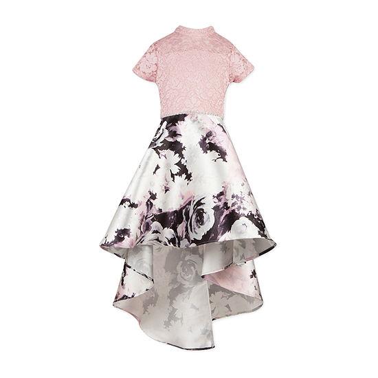 Speechless Girls Short Sleeve Cap Sleeve Party Dress - Preschool / Big Kid