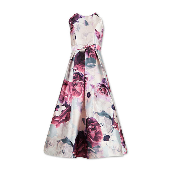 Speechless Little & Big Girls Sleeveless Floral Maxi Dress