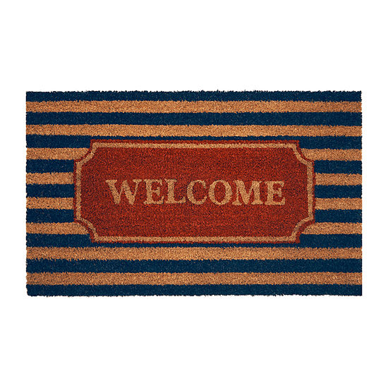 Achim Welcome Aboard Rectangular Indoor/Outdoor Doormat