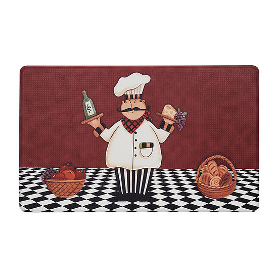 Achim Anti Fatigue Cucina Rectangular Indoor Kitchen Mat