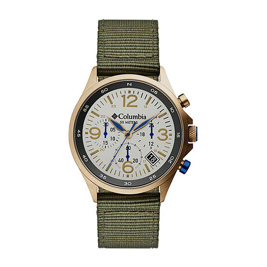 Columbia Sportswear Co. Unisex Adult Green Strap Watch-Csc02-004