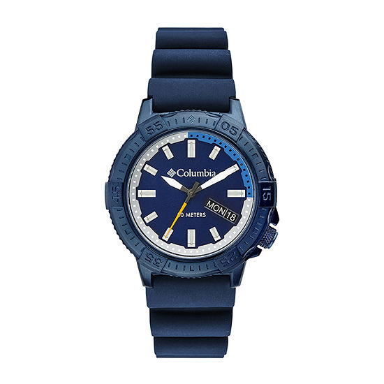 Columbia Sportswear Co. Mens Blue Strap Watch-Csc03-002